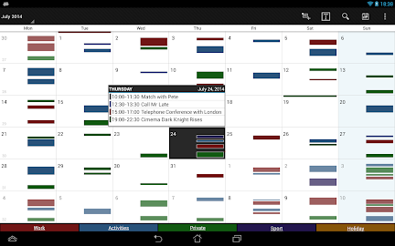 Business Calendar Pro Screenshot 5