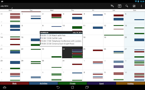 Business Calendar Pro Screenshot 9