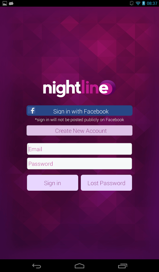 Nightline- screenshot