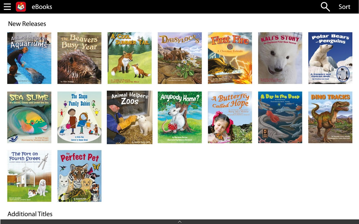 Fun eReader Picture Books- screenshot