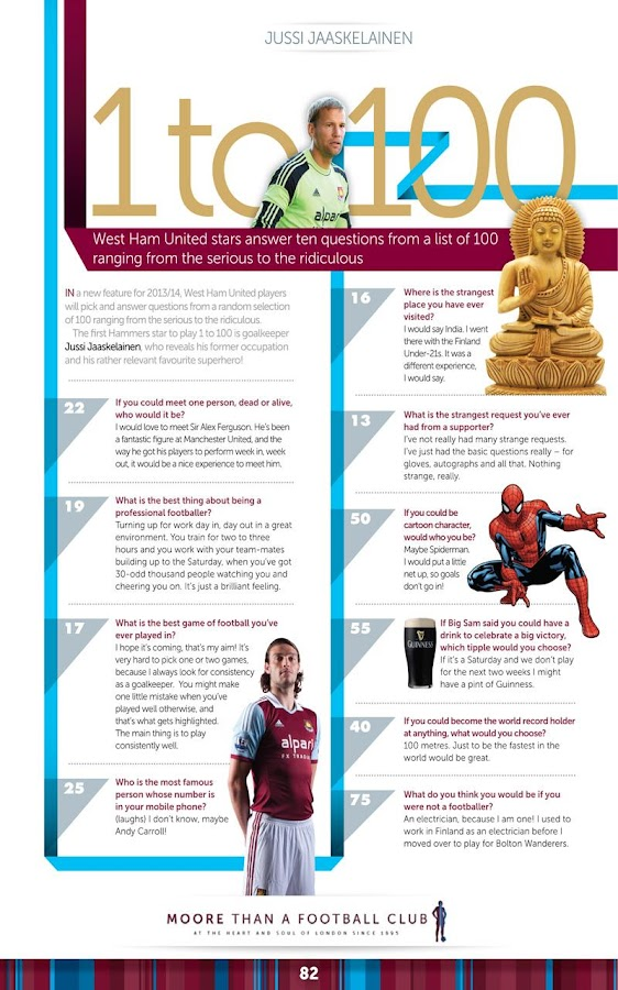 West Ham United FC Programme - screenshot