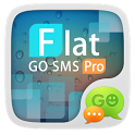 (FREE)GO SMS FLAT THEME icon