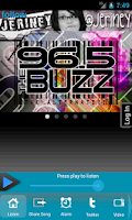 Screenshot of 96.5 The Buzz