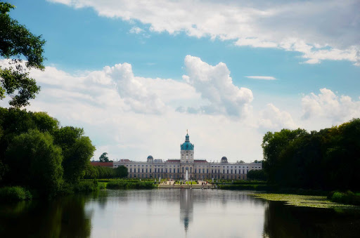 Charlottenburg Palace, the largest palace in Berlin, was built in the late 1600s and is a popular tourist destination.