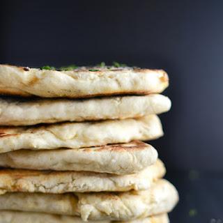 Homemade Naan {Indian Leavened Flatbread}