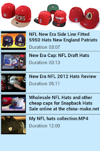 NFL Hat Collection