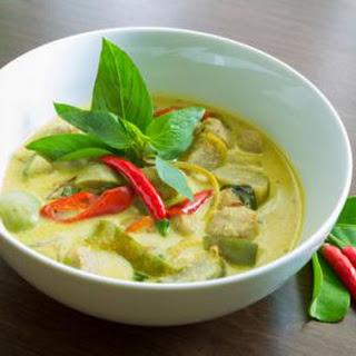 Vegetarian Thai Green Curry (Vegan/Gluten-free).
