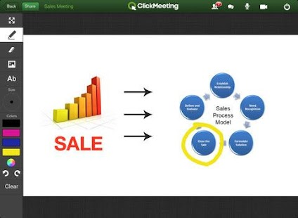 ClickMeeting Online Meetings - screenshot thumbnail