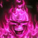Wavy Skull Live Wallpaper