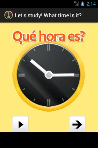 What time is it in Spanish.