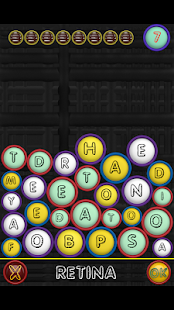 Word Puzzle Reflexive Game screenshot