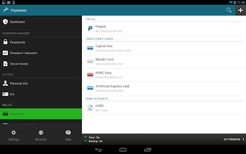 Dashlane Password Manager - screenshot thumbnail