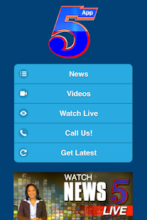 Channel 5 Belize Mobile App- screenshot thumbnail