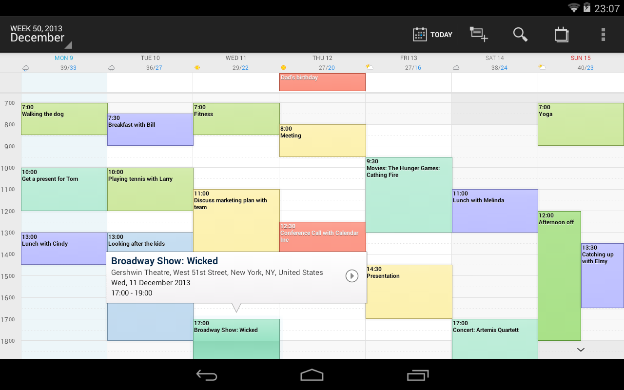 digical kalender widgets android apps auf google play. Black Bedroom Furniture Sets. Home Design Ideas