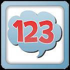Números para crianças 1-20 icon