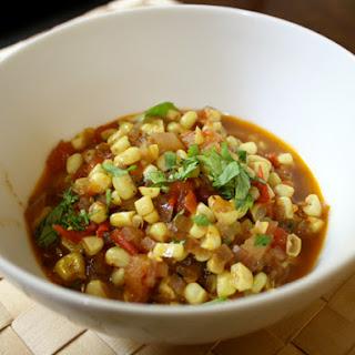 Angrezi Bhutta (Corn and Tomato Curry)