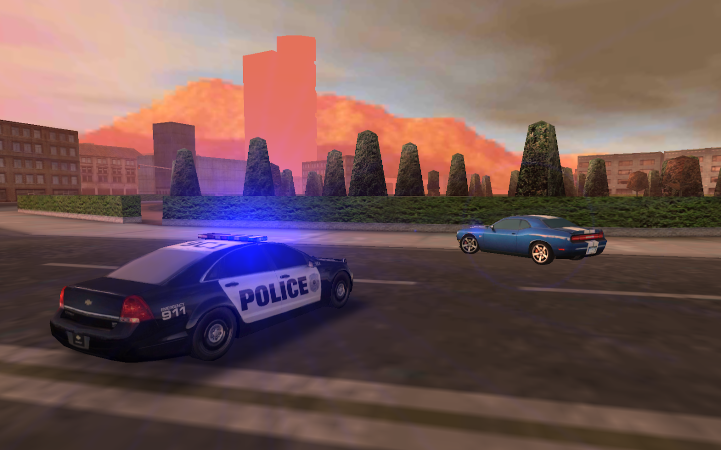Police Car Racing Game