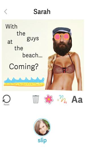 Slipnote - visual messaging