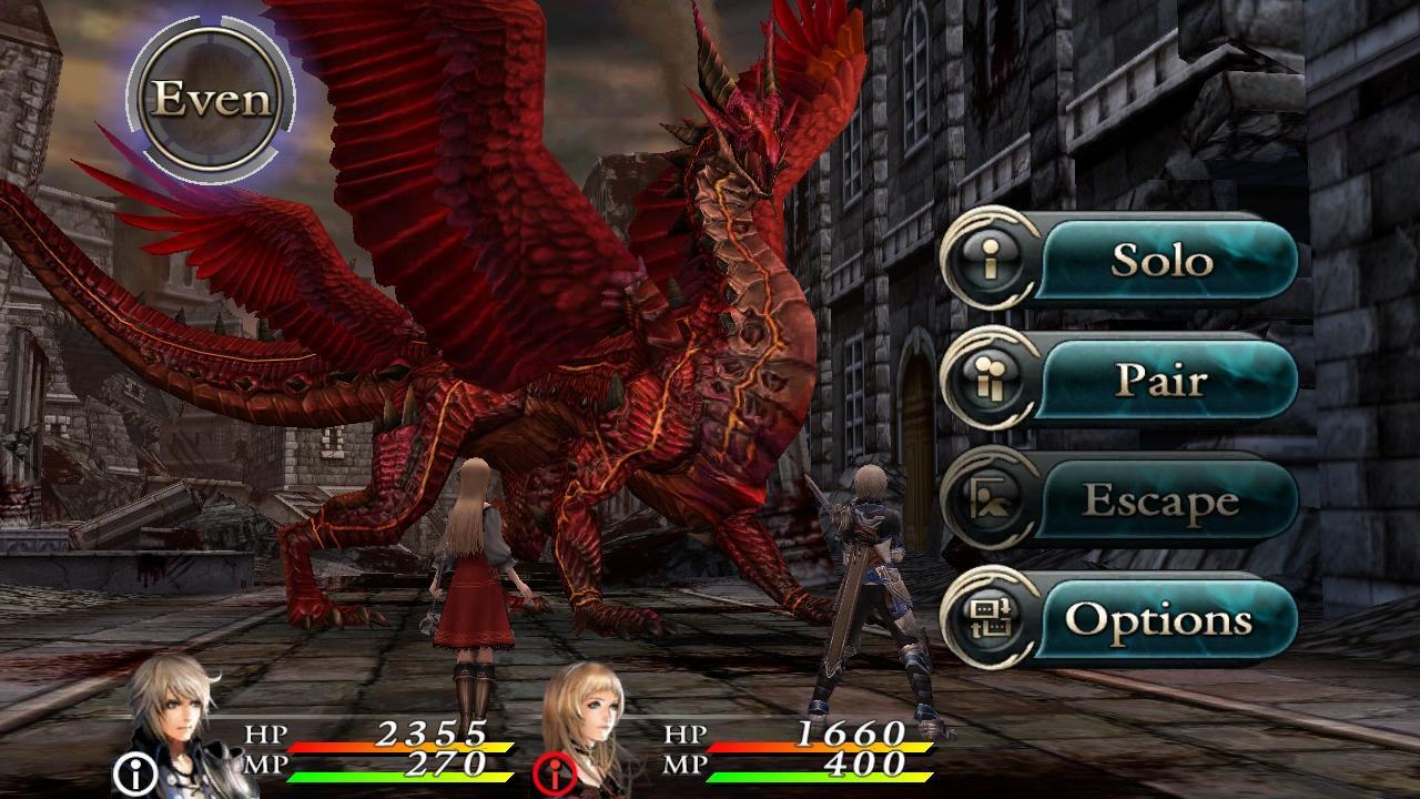 CHAOS RINGS II screenshot #5