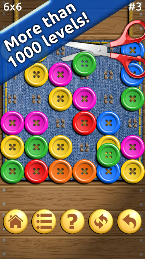 Buttons and Scissors- screenshot