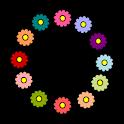 Little Flowers Clock Widget