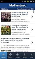 Screenshot of El Periódico Mediterráneo
