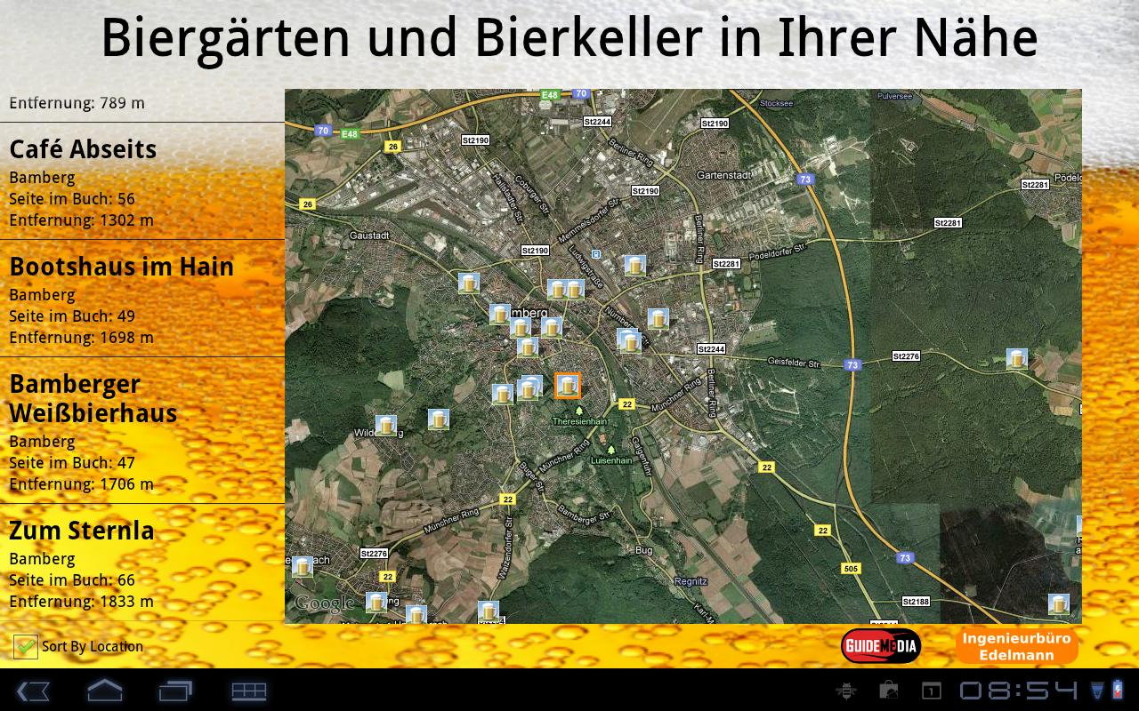 BierApp - screenshot