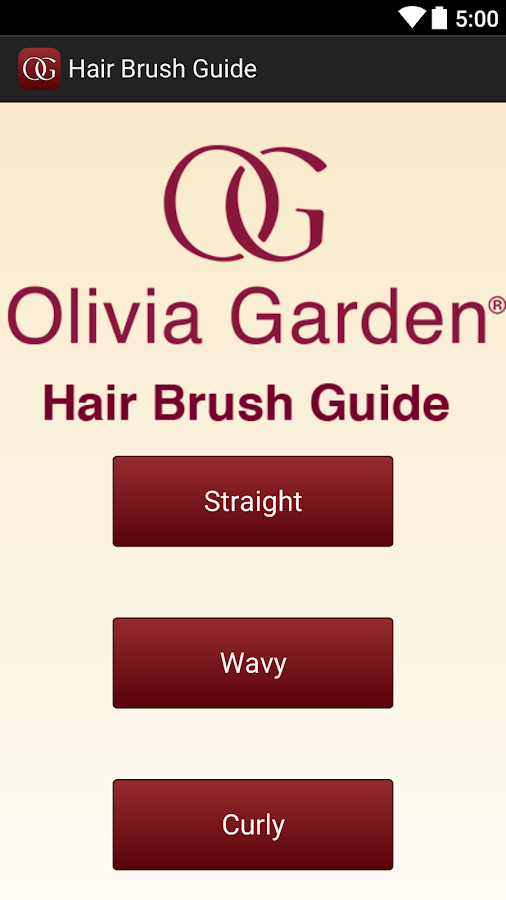 Hair Brush Guide - screenshot