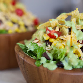 Healthy Chicken Taco Salad