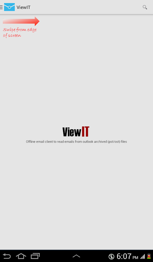 ViewIT - Outlook PST Viewer - screenshot