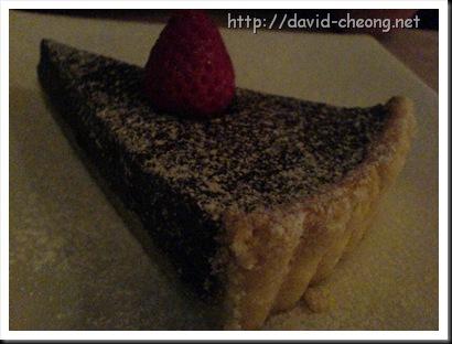 Cafe cafe, Chocolate Tart