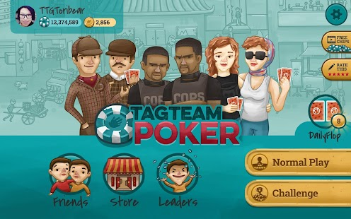 Tag Team Poker- screenshot thumbnail