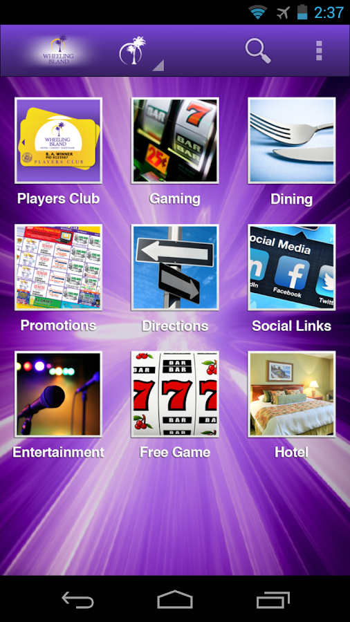 Wheeling Island Casino - screenshot