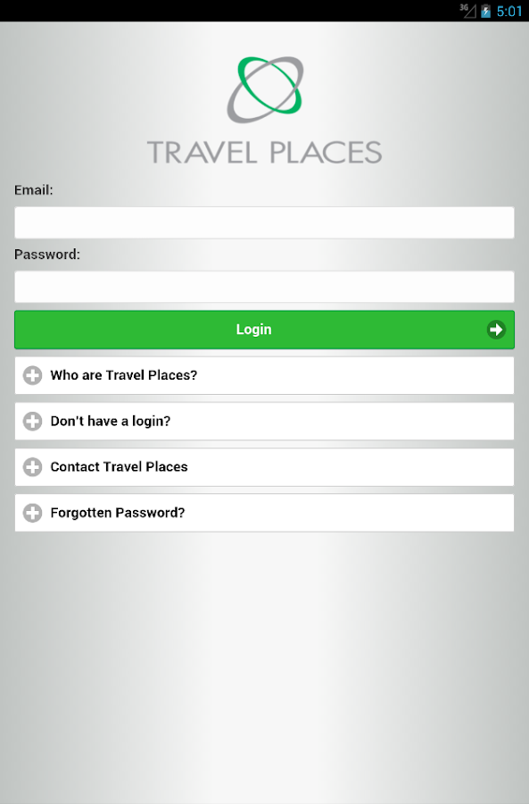 Travel Places- screenshot