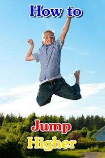 Jump Higher : Vertical leap
