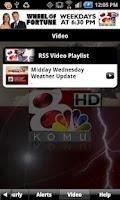 Screenshot of KOMU WX