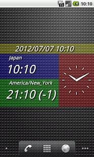 DUAL DIGIT WORLD CLOCK CL