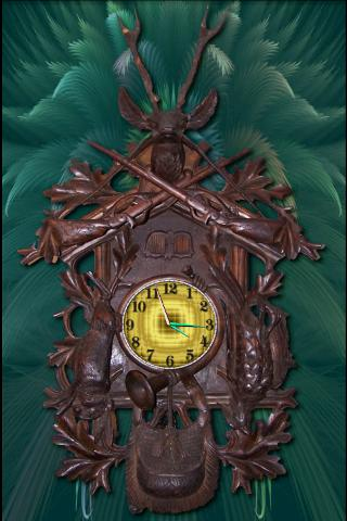 Deer Clock HD Cuckoo Clock - screenshot