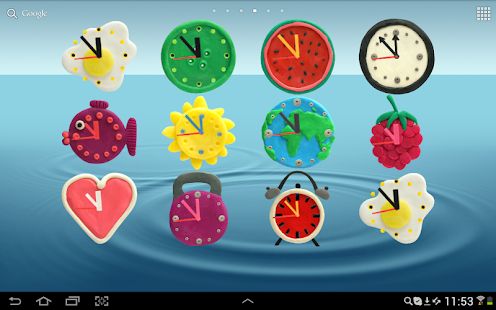 KM Clock Widgets