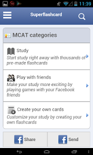 MCAT Flashcards - screenshot thumbnail