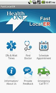 HealthONE Fast LocatER - screenshot thumbnail