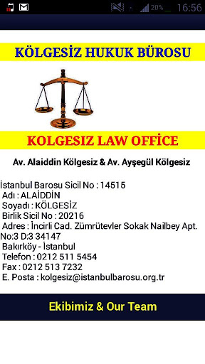 Kölgesiz Hukuk Bürosu