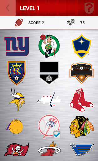 Usa Sports Logo Quiz Screenshot