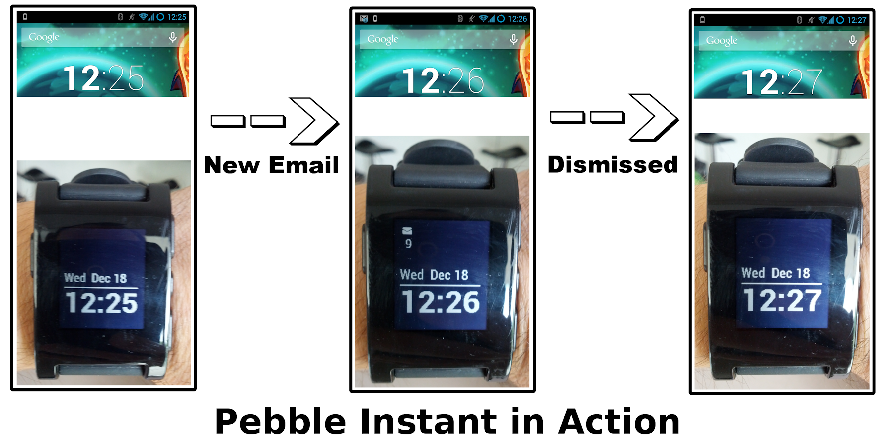 Instant for Pebble - screenshot
