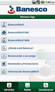 BanescoMóvil - screenshot thumbnail