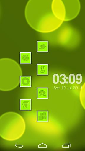 VM10 Green Icon Set