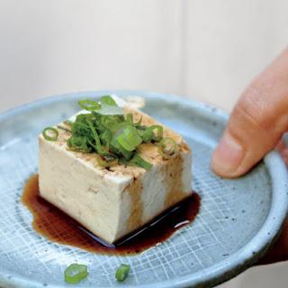 Japanese Chilled Tofu.