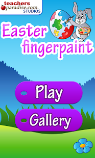 Easter Fingerpaint and Color