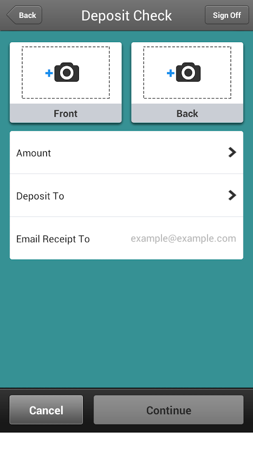 Umpqua Biz Mobile - screenshot