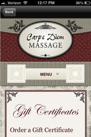 carpe diem massage therapy massages.nu